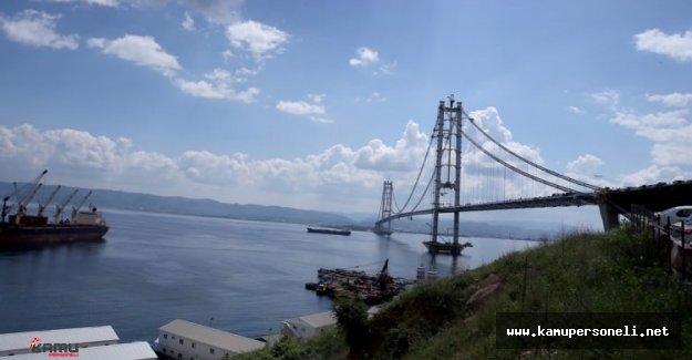 Başbakan Binali Yıldırım'dan Osman Gazi Köprüsü Mesajı
