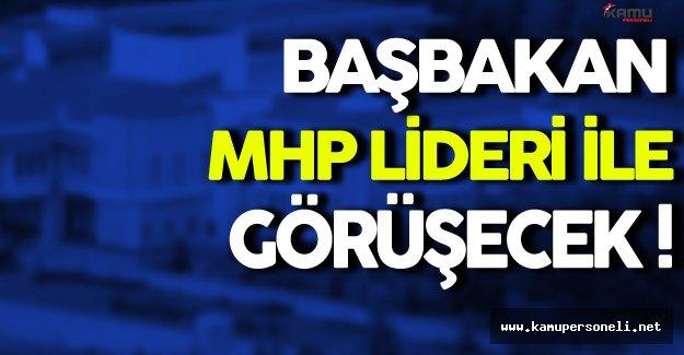 Başbakan İle MHP Lideri Görüşecek