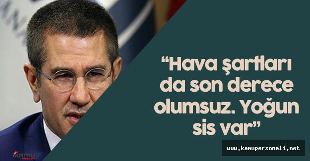 """Başbakan Yardımcısı Canikli :""""Acımız büyük. Milletimizin başı sağ olsun"""""""
