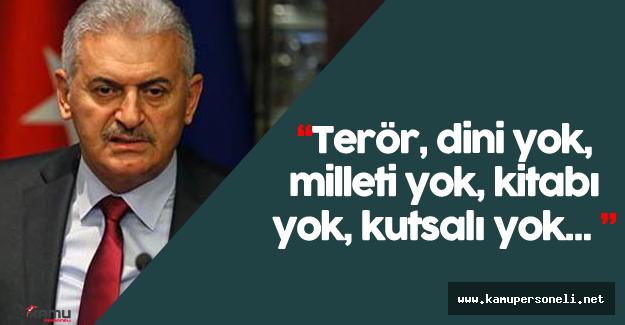 """Başbakan Yıldırım: """"Bu, Türkiye'nin gelecek mücadelesi, istiklal mücadelesi..."""""""