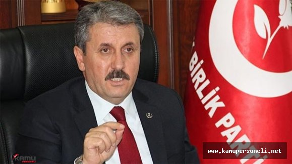 BBP Genel Başkanı Destici'den Türkiye Rusya Görüşmeleri Hakkında Açıklama Yaptı