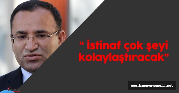 """Bekir Bozdağ: """"Yargıda yeni dönemin adı istinaf yargılamasının başlamasıdır!"""""""