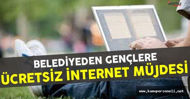 Belediye Tarafından Gençlere Ücretsiz İnternet Uygulaması