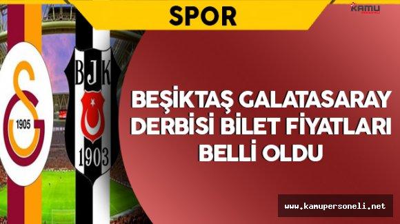 Beşiktaş-Galatasaray Derbisi Bilet Fiyatları Belli Oldu