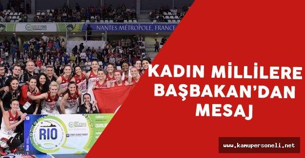 Binali Yıldırım'dan Kadın Basketbol Takımına Mesaj Var