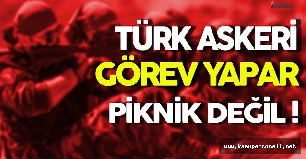 Binali Yıldırım: ' Türk Askeri Piknik Yapmaz Görev Yapar '