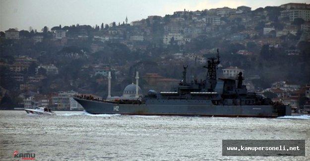 Bir Rus Savaş Gemisi Gerginliği Daha Yaşandı