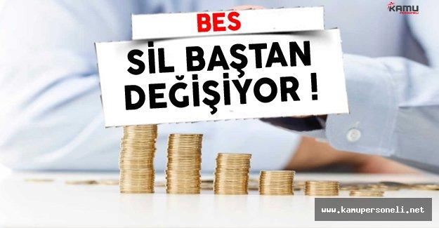 Bireysel Emeklilik Sistemi (BES) Değişiyor