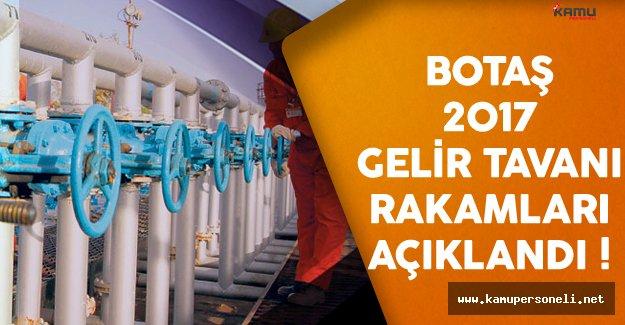 BOTAŞ'ın 2017 Yılı Gelir Tavanı Belirlendi