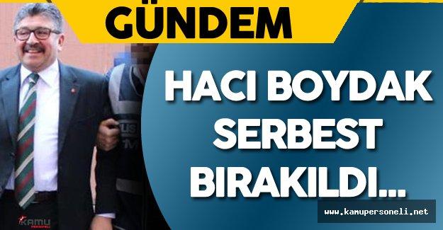 Boydak Holding Yönetim Kurulu Başkanı Hacı Boydak Serbest Bırakıldı
