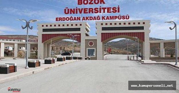 Bozok Üniversitesi 1 Akademik Personel Alacak