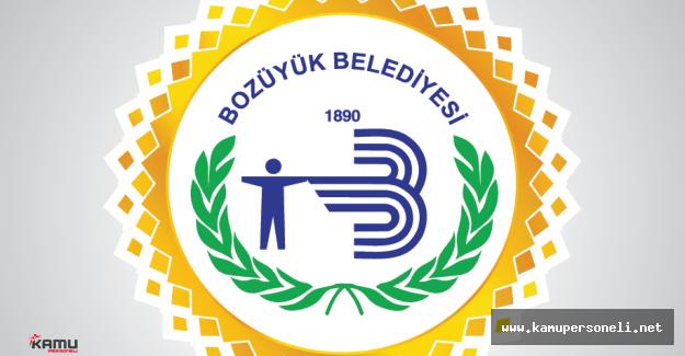 Bozüyük Belediyesi ( Bilecik ) Daimi İşçi Alımı İlanı