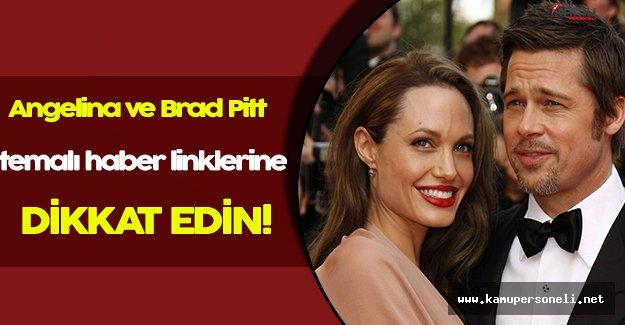 Brad Pitt ve Angelina Jolie Başlıklı Facebook Haberlerine Tıklarken İki Kez Düşünün
