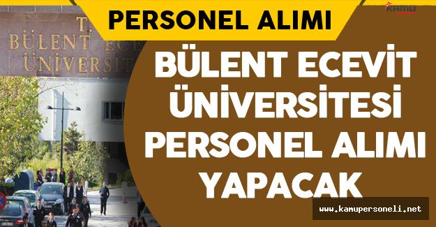 Bülent Ecevit Üniversitesi Personel Alımı Yapacak