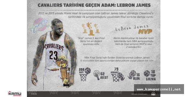 Cavaliers Tarihine Geçen Adam, LeBron James Kimdir?