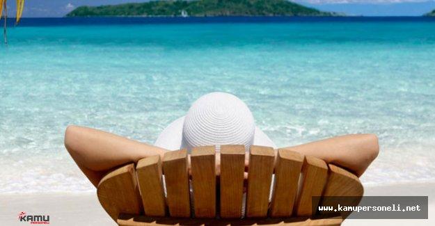 'Çek İle Tatil' Projesi İle Memur ve İşçilere Uygun Fiyata Tatil Fırsatı