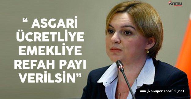 """CHP Genel Başkan Yardımcısı Böke: """"Asgari Ücretliye, Emekliye Refah Payı Verilsin"""""""