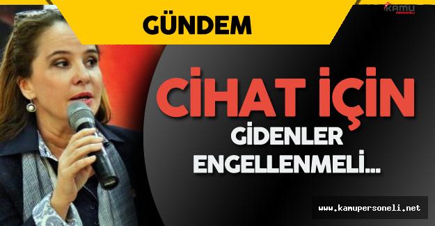 """CHP Genel Başkan Yardımcısı Cankurtaran: """"Cihat için Gidenler Engellenmeli Ceza Verilmeli"""""""