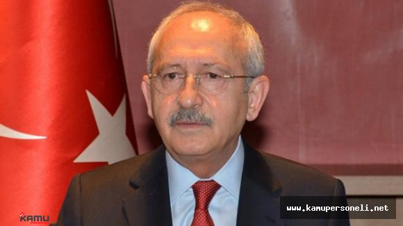 """CHP Genel Başkanı Kılıçdaroğlu: """"Başkomutanlık görevi TBMM'nin"""""""