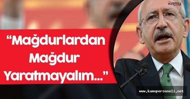 """CHP Genel Başkanı Kılıçdaroğlu:"""" Sendikalı Olmak Ne Zamandan Beri Suç Oldu?"""""""