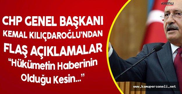 """CHP Genel Başkanı:"""" Öldürülmem Mi Gerekiyor?"""""""