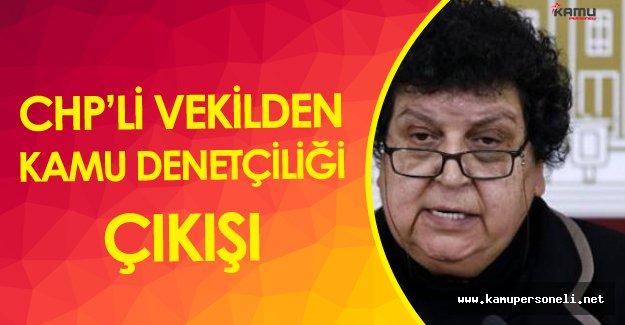 CHP'li Sarıhan'dan Kamu Denetçiliği Çıkışı