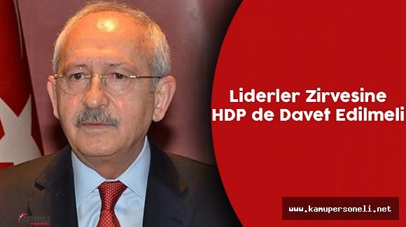 CHP Merkezi Yönetim Kurulu Olağan Üstü Toplandı