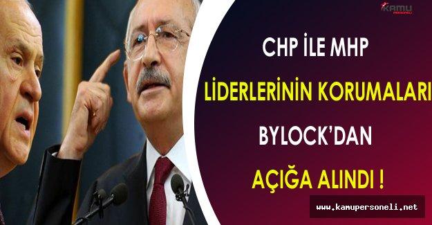 CHP ve MHP Liderlerinin Korumaları FETÖ Soruşturması Kapsamında Açığa Alındı