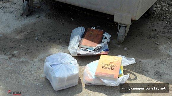 Çöpten FETÖ Elebaşı Gülen'e Ait Kitaplar Çıktı