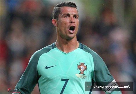 Cristiano Ronaldo Rekor Kırmaya Devam Ediyor