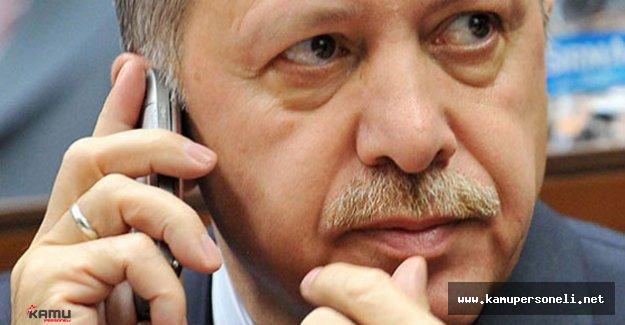 Cumhurbaşkanı Erdoğan'a Taziye Telefonları Geliyor
