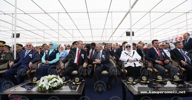 Cumhurbaşkanı Erdoğan Burgazada Korveti'nin Töreninde Açıklamalarda Bulundu