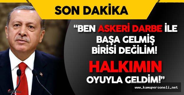 """Cumhurbaşkanı Erdoğan: """"Bir Bayan Kardeşimizin Başı Koptu, Çatıdan Aldık! Şimdi Soruyorum..."""""""