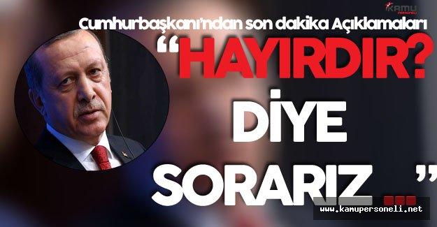 Cumhurbaşkanı Erdoğan'dan BM Genel Kurulu Öncesi Son Dakika Açıklamaları