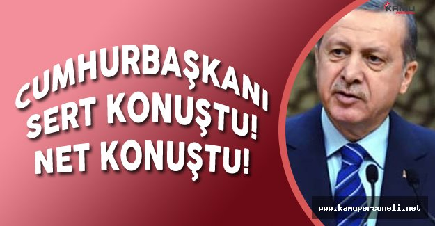 Cumhurbaşkanı Erdoğan'dan Çok Sert HDP ve Batı Açıklaması!