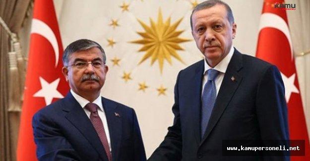 Cumhurbaşkanı Erdoğan, MEB Bakanı Yılmaz'la Görüştü