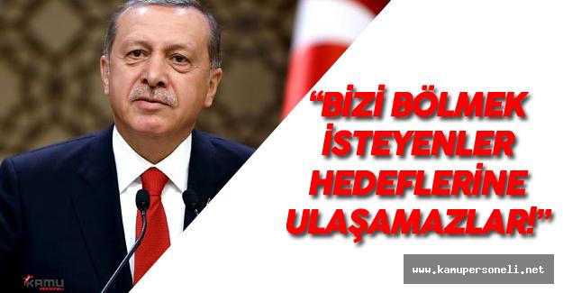 """Cumhurbaşkanı Erdoğan: """"Rabbim bizi bu mabetlerde cemaatsiz bırakmasın"""""""