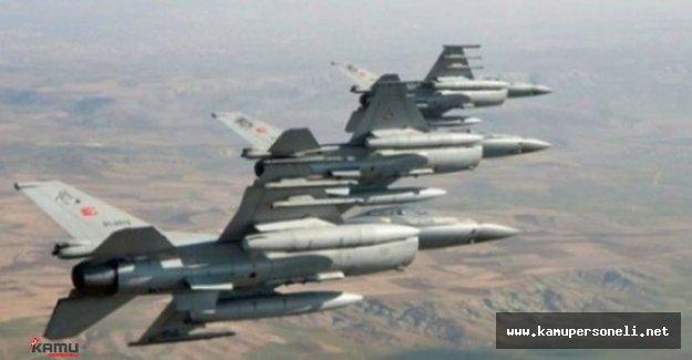 DAEŞ ve PKK Mevzilerine Hava Harekatı: 8 Terörist Etkisiz Hale Getirildi