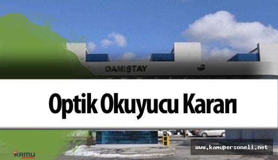 Danıştay 12.Daire Başkanlığı'ndan KPSS 2015 Sınav Sonucu Kararı