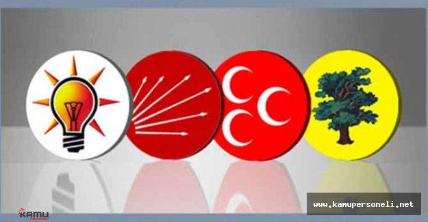 Davutoğlu'nun İstifasının Ardından AK Parti'nin Oyları Yükselişe Geçti