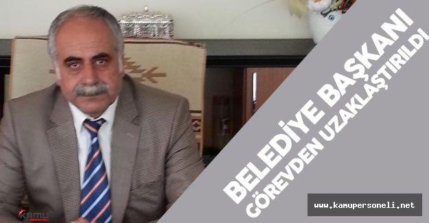 DBP 'li Belediye Başkanı Abdülkerim Kaya Görevden Alındı