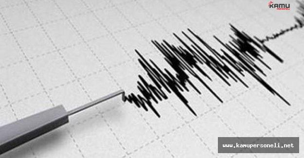 Denizli'de 4 Şiddetindeki Deprem Yürekleri Ağza Getirdi