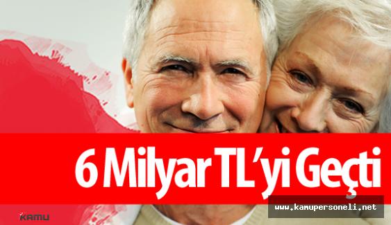 Devlet Bireysel Emeklilik Sistemi  (BES) 'e 6 Milyar Destek Verdi