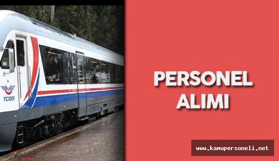 Devlet Demiryolları İşletmesi Genel Müdürlüğü Personel Alımı Yapacak