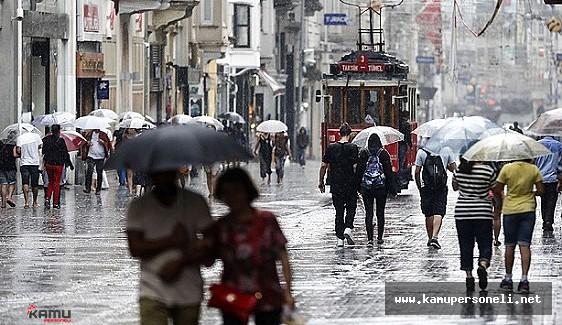 Dikkat, Meteoroloji Uyardı Yağmur Geliyor