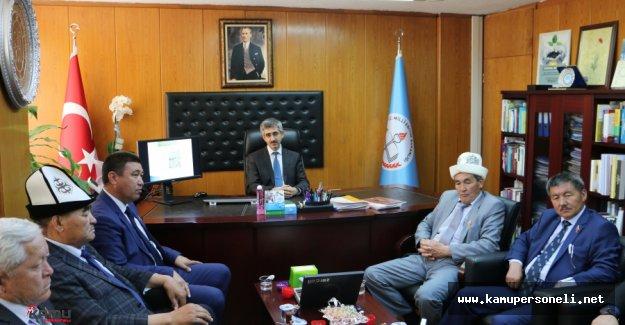 Din Öğretimi Genel Müdürlüğü Kırgızistan Heyeti Görüşmesi