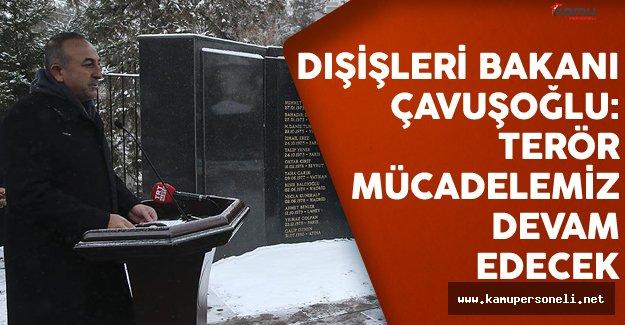 Dışişleri Bakanı Çavuşoğlu: Terör Mücadelemiz Devam Edecek