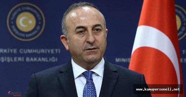 Dışişleri Bakanı Katıldığı İftar Yemeğinde Konuşma Yaptı