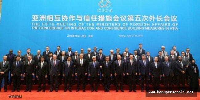 Dışişleri Bakanının Pekin Ziyareti