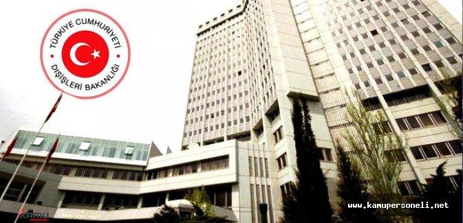 Dışişleri Bakanlığı 35 Personel Alacak